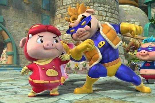 猪猪侠14竞球小英雄剧照