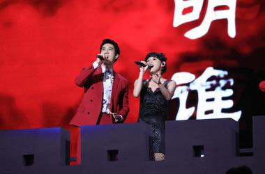 中国好声音剧照